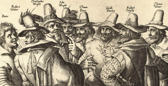 Figure 1: Gunpowder plot conspirators. From http://en.wikipedia.org/wiki/Guy_Fawkes#mediaviewer/File:Gunpowder_Plot_conspirators.jpg