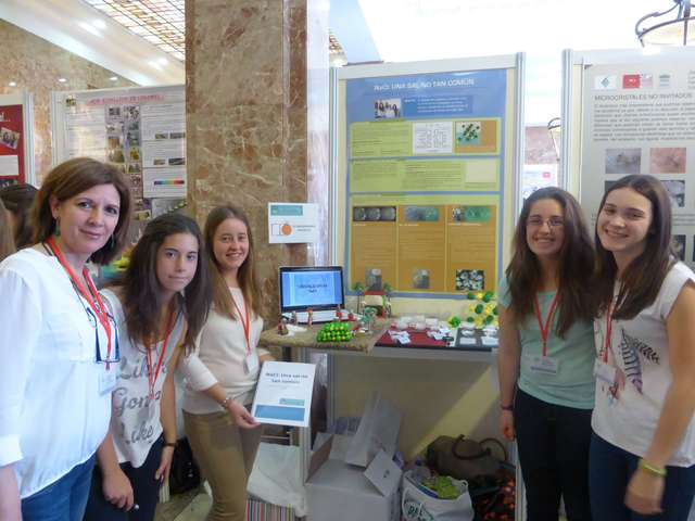 [2014: Spanish Schools Crystallization Competition: Final event]