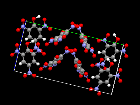 Image generated by the Mercury crystal structure visualisation software http://www.ccdc.cam.ac.uk/Solutions/CSDSystem/Pages/Mercury.aspx