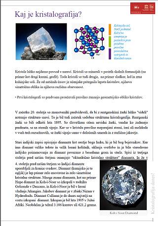 [Crystallography Matters brochure]