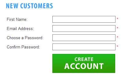 [create account]