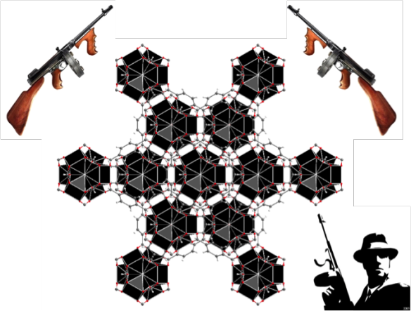 This picture was drawn using Diamond structure visualisation software and 'extra' images from http://eslkidsgames.com/2012/08/esl-mafia-game-for-teens.html.