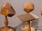 [wooden crystal models]