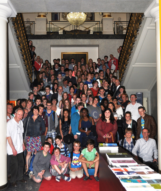 [2014: Belgian Crystallization Competition: Group photo]