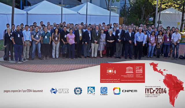 [2014: Latin American Summit Meeting on Biological crystallography and complementary methods: Group photo]
