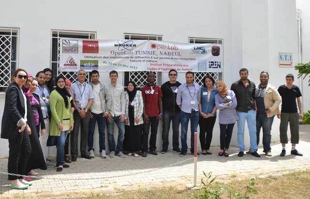 [2015: IUCr-UNESCO Open Lab: Travelling Laboratory Nabeul]
