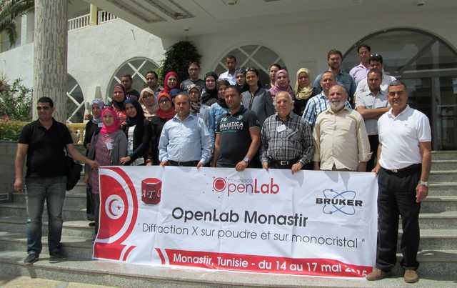 [2015: IUCr-UNESCO Open Lab: Travelling Laboratory Monastir]